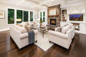 Living Room Flooring Ideas (Top Interior Designs)