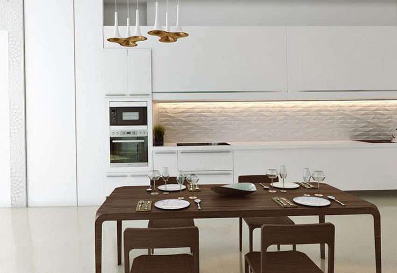 19 Small Modern White Kitchen Designs Designing Idea