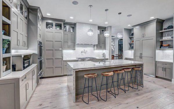 Gray Kitchen Cabinets Design Ideas Designing Idea