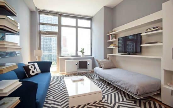Turning a Living Room into a Bedroom - Designing Idea