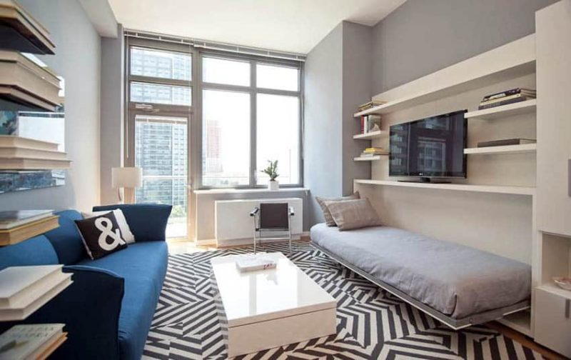 Turning a living room into a bedroom designing idea - Turning living room into a bedroom ...