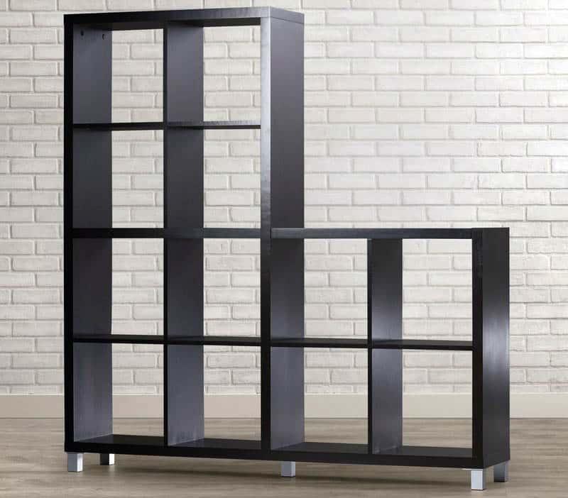 Cube bookcase storage unit