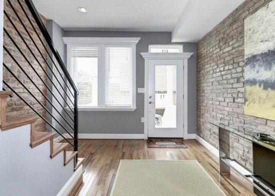 Best foyer paint colors designing idea - Small entryway paint colors ...