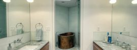 bathroom-with-freestanding-copper-japanese-soaking-tub