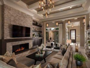 27 Beautiful Earth Tone Living Room Designs