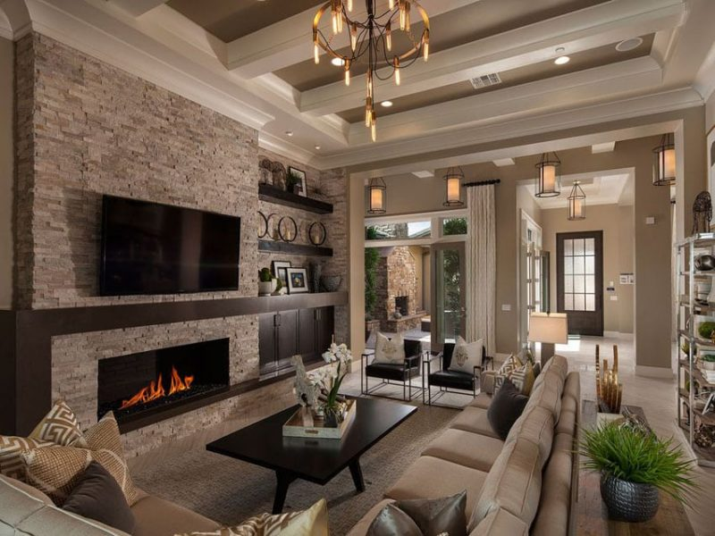 27 Beautiful Earth Tone Living Room Designs Designing Idea