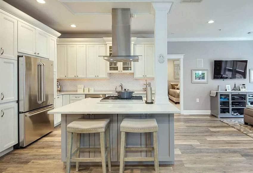 L Shaped Kitchen With Island Design Ideas Designing Idea