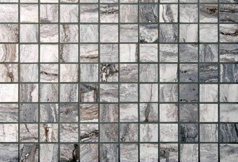 Square porcelain tile mosaic