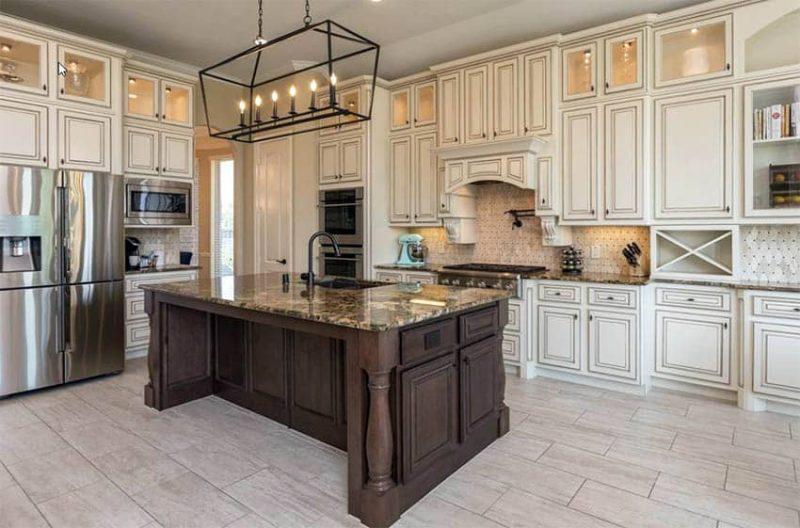 incredible cream distressed kitchen cabinets | Distressed Kitchen Cabinets (Design Pictures) - Designing Idea