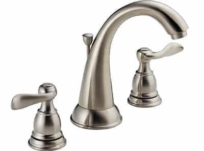 2 handle spread fit bathroom faucet