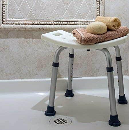 Medical shower bench