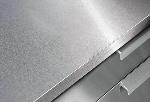 304 grade stainless steel countertops