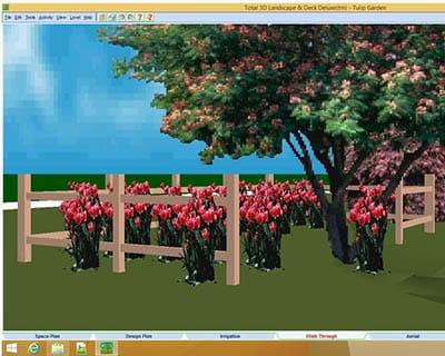 Total 3d landscape design software