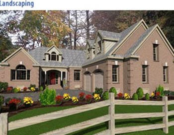 Virtual architect home landscape software