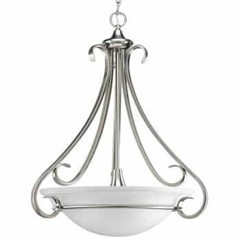 Inverted pendant light