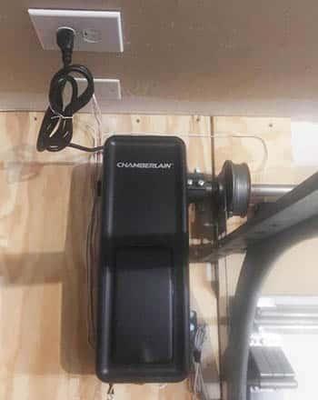 Direct drive garage door opener