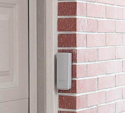 Garage door keyless entry