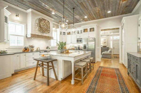 Wood Kitchen Ceiling Design Ideas Designing Idea