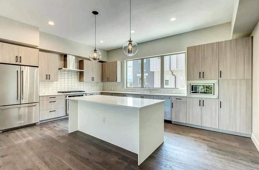 Beige Kitchen Ideas Cabinets Countertops Backsplash Designing Idea