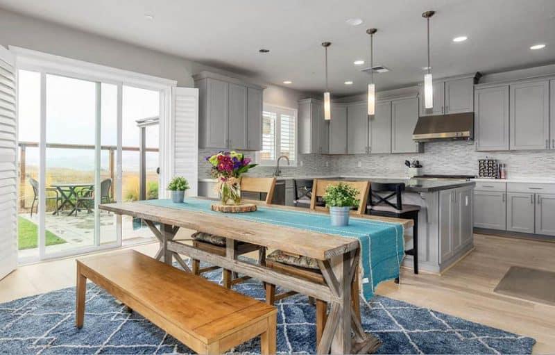 open vs closed kitchen design  designing idea