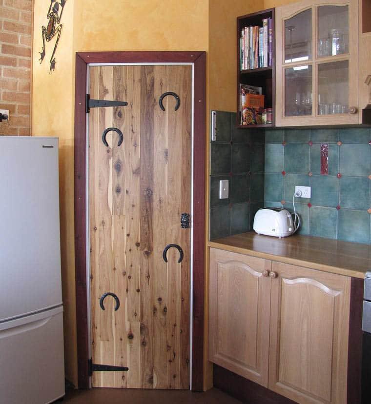 Diy kitchen pantry door