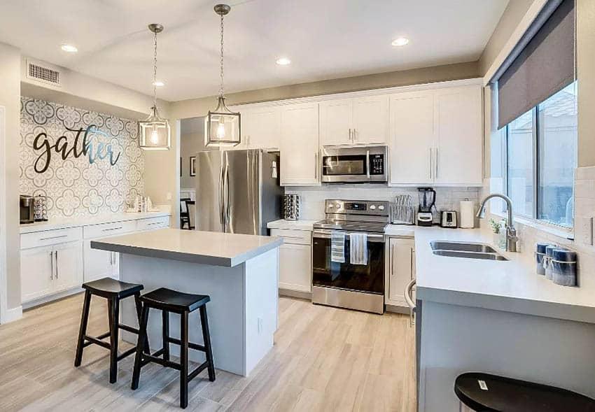 Well organized kitchen design