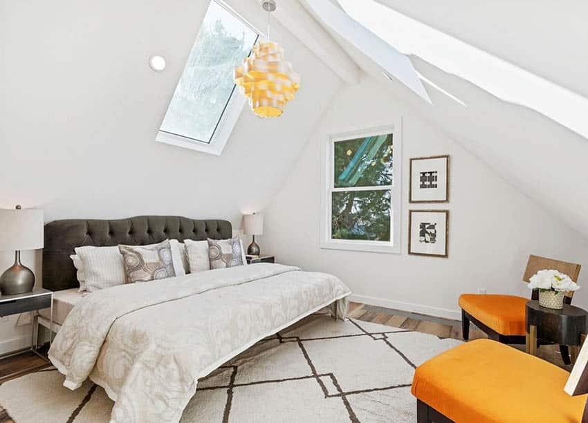 Contemporary Loft Conversion Bedroom
