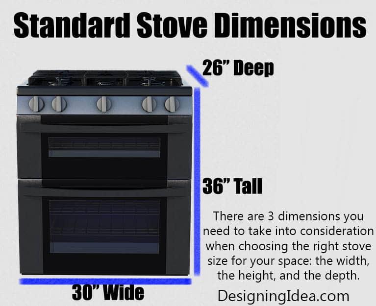 Standard Stove Dimensions