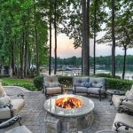 amazing-waterfront-paver-patio-with-fire-pit