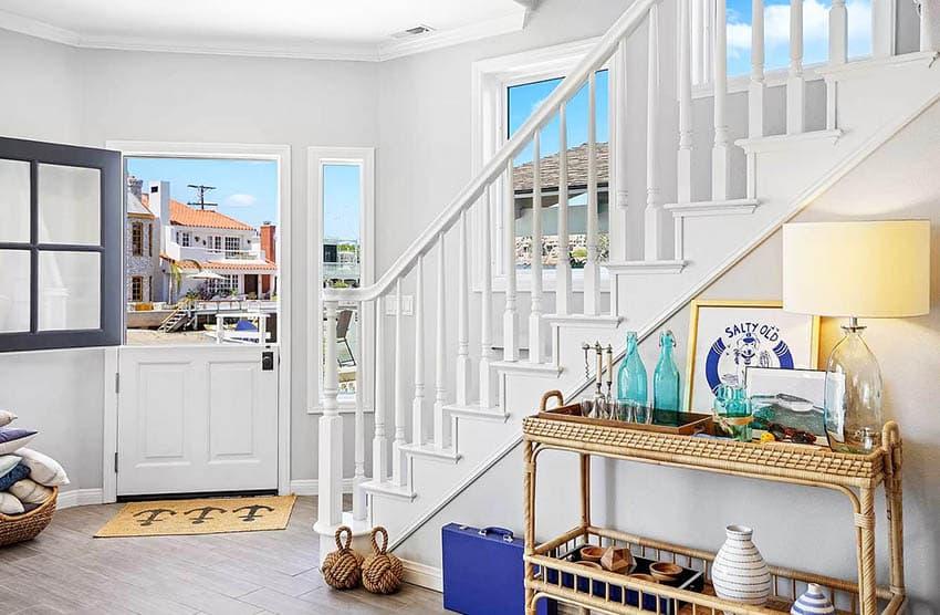 Beach house with Dutch doors