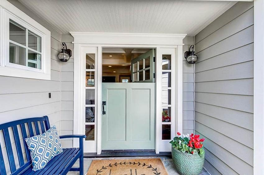 Cottage style dutch door