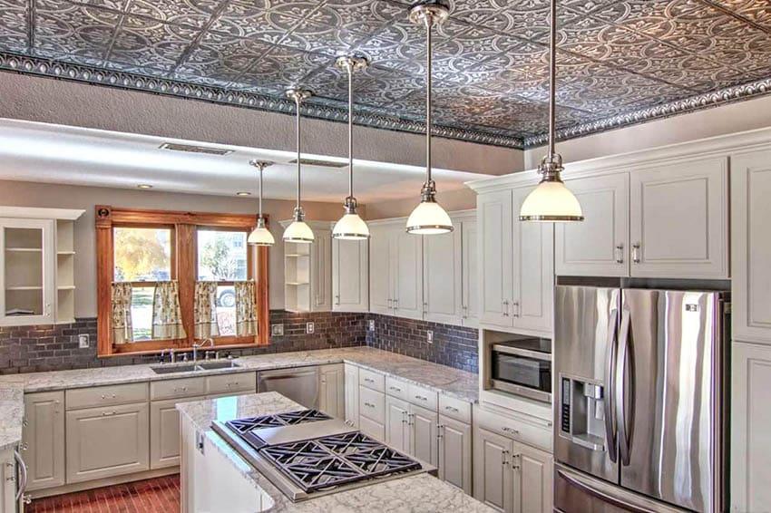 kitchen-tin-ceiling-tiles