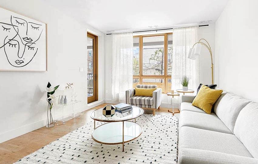 Minimalist furniture living room
