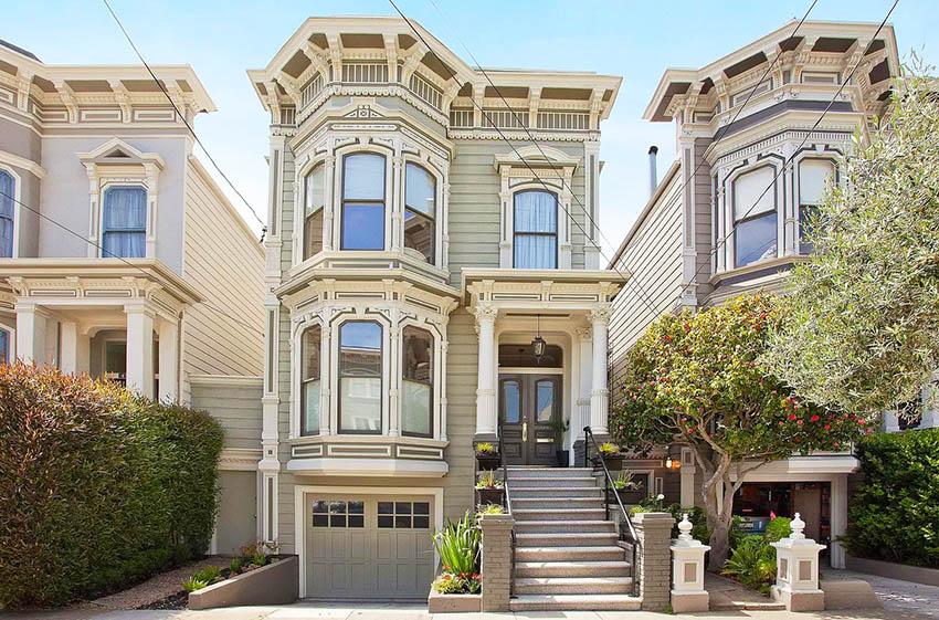 SF Victorian architecture