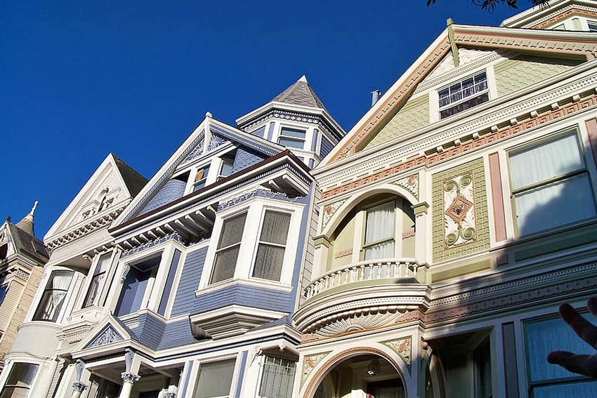 Victorian house front