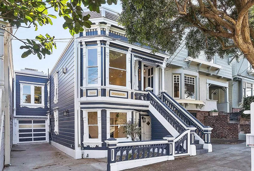 Victorian renovated house
