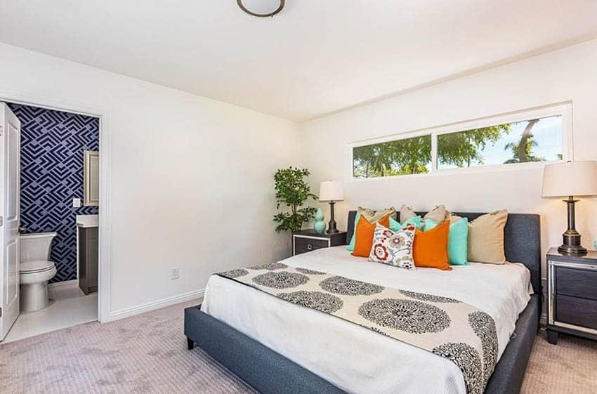 Bedroom after remodel