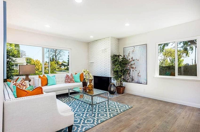 Living room after remodel