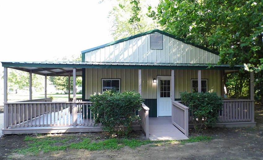 Pole barn house kit