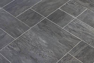 Vinyl composite flooring that looks like slate
