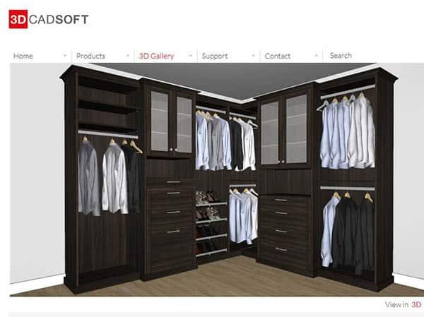 3d Closetcadpro closet designer