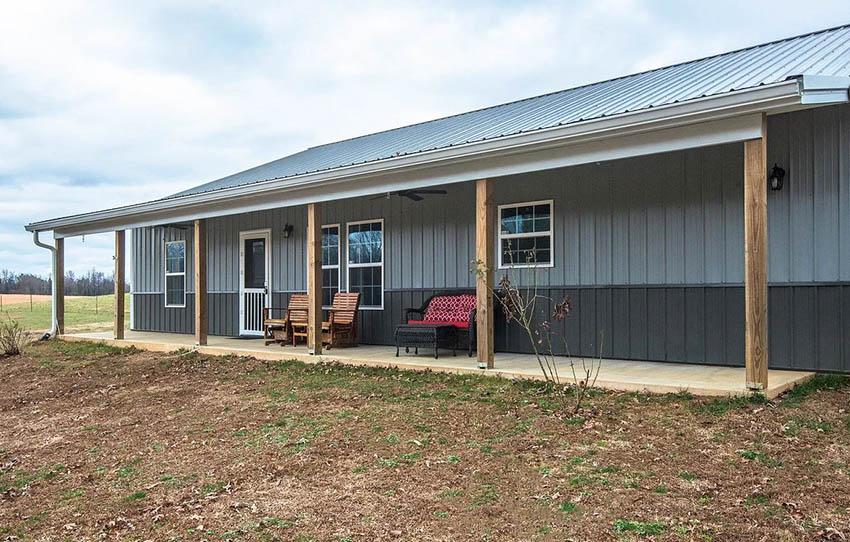 Barndominium kit home