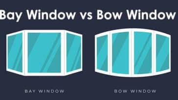 Bay window vs bow window