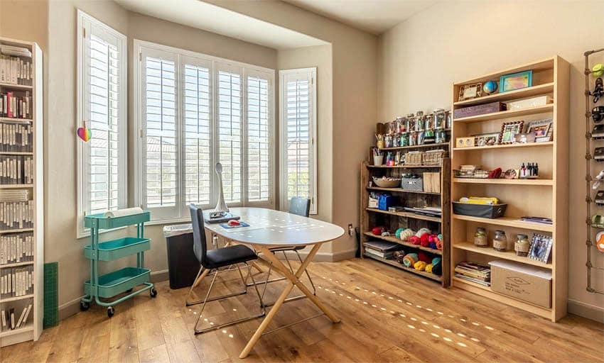 Craft room for sewing