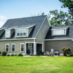 House with hardie board siding