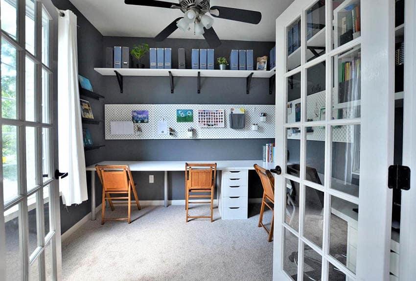 Office craft room