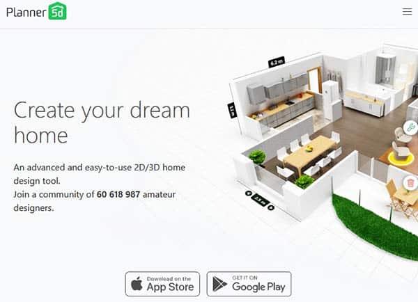 Planner 5d design software
