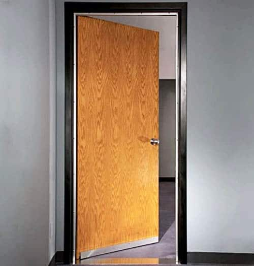 Acoustic door gasket seal