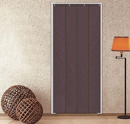Soundproof door curtain