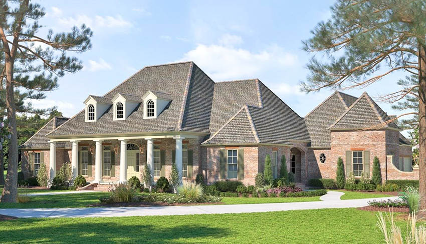 Acadian style house design